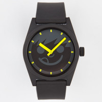 Neff Daily Suckerface Watch Black/Yellow One Size For Men 19879192801