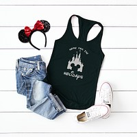 Home for the Holidays - Disney Christmas | Racerback Tank