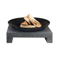 Campfire Table & Saucer in Granite
