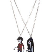 Adventure Time Marshall Lee & Marceline Best Friends Necklaces | Hot Topic