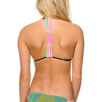 Damsel Soft Tribe Rosa Macrame Triangle Bikini Top
