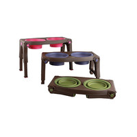 Adjustable Collapsible Pet Feeder