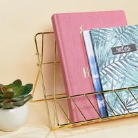Paperchase Gold Book Stand at asos.com