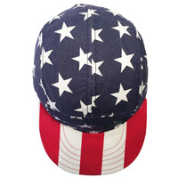5 Panel Snap Back Hat  America