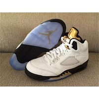 Air Jordan 5 Retro Olympic Basketball Shoes 36-47