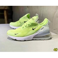Bunchsun NIKE AIR MAX 270 Fashion Women Men  Air Cushion Sport Running Shoes Sneakers 4#
