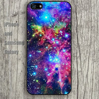 Nebula space fox iphone 6 6 plus iPhone 5 5S 5C case Samsung S3,S4,S5 case Ipod Silicone plastic Phone cover Waterproof