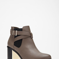 Buckled Chelsea Boots