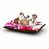 "Ebi Emporium ""Pocket Full Of Posies 11"" Nature Pink Dog Bed"