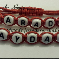Mayday parade adjustable stacker bracelet summer boho hippy stackable