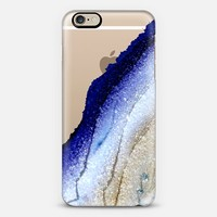 FLAWLESS ROYAL BLUE & FAUX GOLD by Monika Strigel iPhone 6 case by Monika Strigel | Casetify