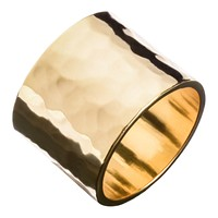 Hammered Wide Ring