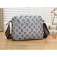 """Louis Vuitton"" fashion trend wild Messenger print  shoulder bag"