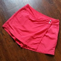 EDDIE BAUER Women's Quick Dry Nylon Summer Skorts Skirt Shorts size 6 8 S M