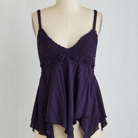 ModCloth Boho Long Tank top (2 thick straps) Graceful Guidance Top