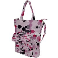 Confetti Polka Dots 2 Shoulder Tote Bag