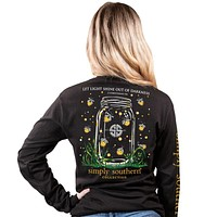 Shine Out Fire Flies - SS - F20 - Adult Long Sleeve