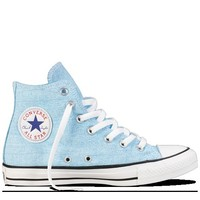 Converse - Chuck Taylor Washed Neon - Hi - Washed Neon Blue