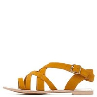 Qupid Strappy Sandals by Charlotte Russe