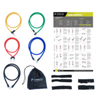 """Resistance Band Exercise Set - 24""""x36"""" Workout Poster  Laminated"""