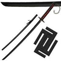 Japanese Anime Ichigo Tensa Bankai Sword Cutting Moon