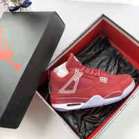 Air Jordan 4 Retro Brand Sneakers - Best Online Sale