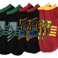 Harry Potter Gryffindor Hogwarts Slytherin 3 Pack Ankle Socks