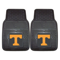 Tennessee Volunteers NCAA Heavy Duty 2-Piece Vinyl Car Mats (18x27)