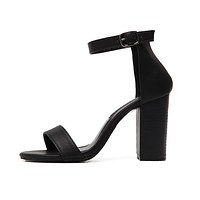 Stephanie Thick Heels Sandals