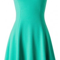 Strapless Skater Dress