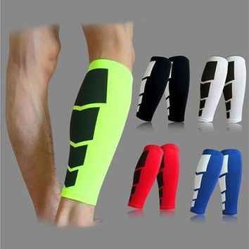 Sports Leg Calf Leg Brace Support Stretch Sleeve Compression Exercise Unisex fc0 [9305865863]