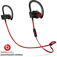 Beats by Dre Powerbeats 2 Wireless In-Ear Bluetooth Headphones - Black/Red