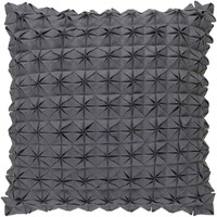 Structure Throw Pillow Gray