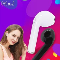 M&J TWS i7s Mini Wireless Bluetooth Headphone Sport Stereo Earphone With Mic Handsfree Headset Earbuds For iPhone X 8 Samsung