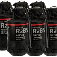TAGinn R2Bs Airsoft Pyrotechnic Hand Grenade (Quantity: Set of 6)