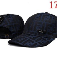 DCCKUN2 FENDI  embroidery Strap Cap Adjustable Golf Snapback Baseball Hat