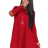 That's On You Dress in Burgundy   Monday Dress Boutique