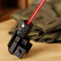 Hot Powerful Tactical Mini Red Dot Laser Sight Scope Weaver Picatinny Mount for Gun Rifle Pistol Shot Airsoft Riflescope Hunting