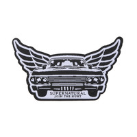 Supernatural Impala Wings Baby Iron-On Patch
