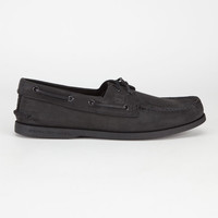 Sperry Top-Sider Authentic Original Mens Boat Shoes Black  In Sizes