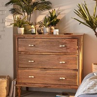 Boho 3-Drawer Dresser | Urban Outfitters