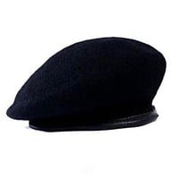 Outdoor Breathable Pure Wool Beret Hat & Caps Idf -3 Colors