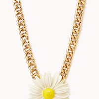 Darling Daisy Pendant Necklace | FOREVER21 - 1000109871