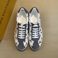 lv louis vuitton men fashion boots fashionable casual leather breathable sneakers running shoes 624