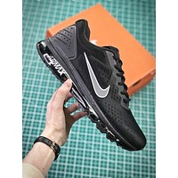 Nike Air Max 2019 Simple Black Sport Running Shoes
