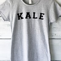 Kale T-Shirt in Grey for Women