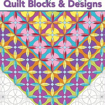 Coloring Book of Quilt Blocks and Designs Adult Coloring Book