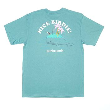 Nice Birdie Short Sleeve Tee Shirt by Party Pants