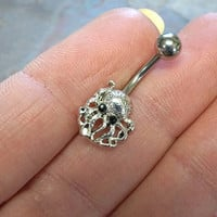 Octopus Belly Button Ring