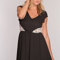Black White Crochet Design Cut Out Sexy Dress @ Amiclubwear sexy dresses,sexy dress,prom dress,summer dress,spring dress,prom gowns,teens dresses,sexy party wear,women's cocktail dresses,ball dresses,sun dresses,trendy dresses,sweater dresses,teen clothin